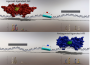 Antagonist-bound androgen receptor significantly shifts its genomic binding gene expression profiles. These data inform novel targets for therapeutic interventions.  Agonist- and antagonist-liganded ARBEs in vivo are precisely defined.  Agonist and antagonist induce AR binding to distinctly different DNA motifs. Distinct DNA binding leads to distinct cancer-relevant transcriptional outcomes.  Agonist- and antagonist-liganded ARBEs are associated with prostate carcinogenesis.  Agonist and antagonist switch DNA motifs recognized by human androgen receptor in prostate cancer.  Wang et al 2014.