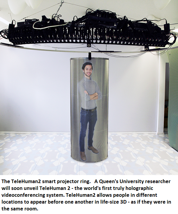 Life-size holograms set to revolutionize videoconferencing