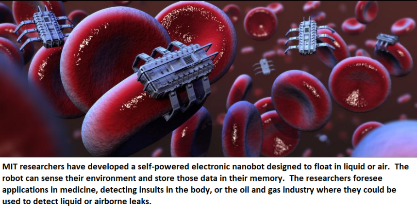 cell sized robot nanobot electronic healthinnovations